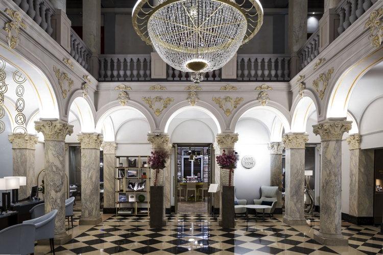 Ritz-Carlton Hotel de la Paix, Geneva - Lobby