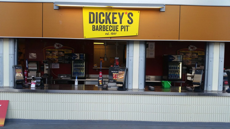 Dickey's Franchisee Opens Concession Stands in Arrowhead Stadium