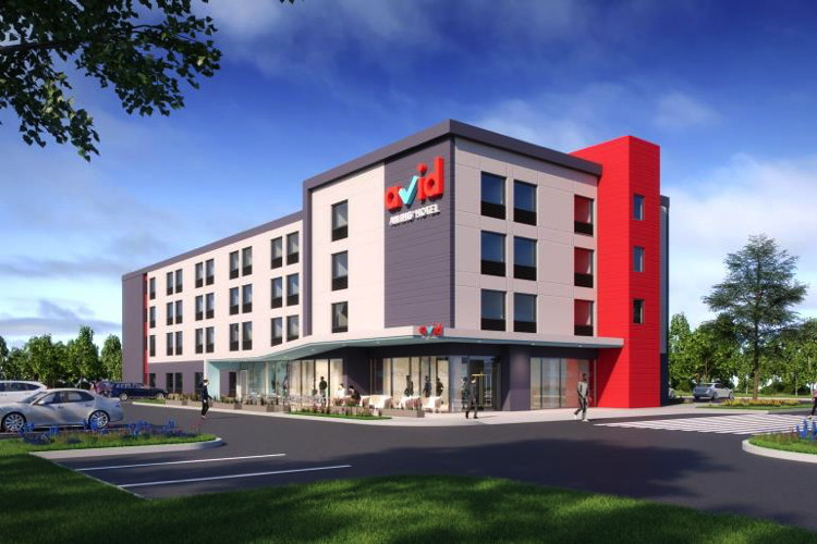 Rendering of the avid hotels prototype