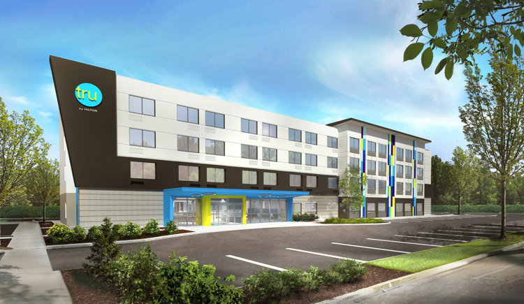 Tru by Hilton Breaks Ground on Raleigh Durham Airport Hotel