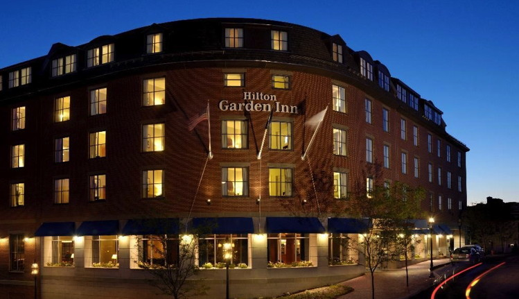 Hilton Garden Inn Portsmouth Downtown in N.H. Sold for $43.5 million
