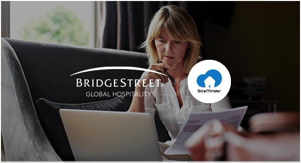 BridgeStreet Global Hospitality and SiteMinder logos