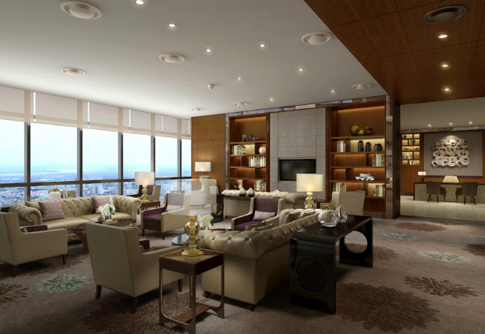 Suite at the InterContinental Hanoi Landmark72 Hotel