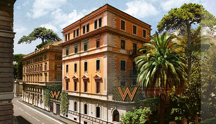 Rendering of the W Hotel Rome
