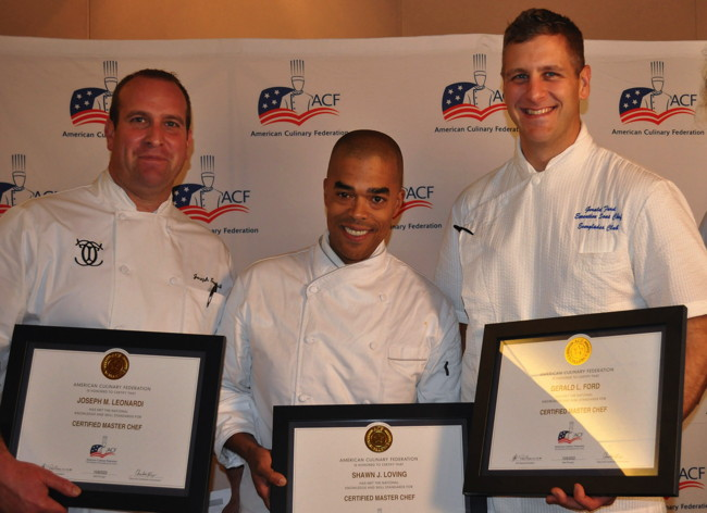 Chefs Joseph Leonardi, Shawn Loving, and Gerald Ford