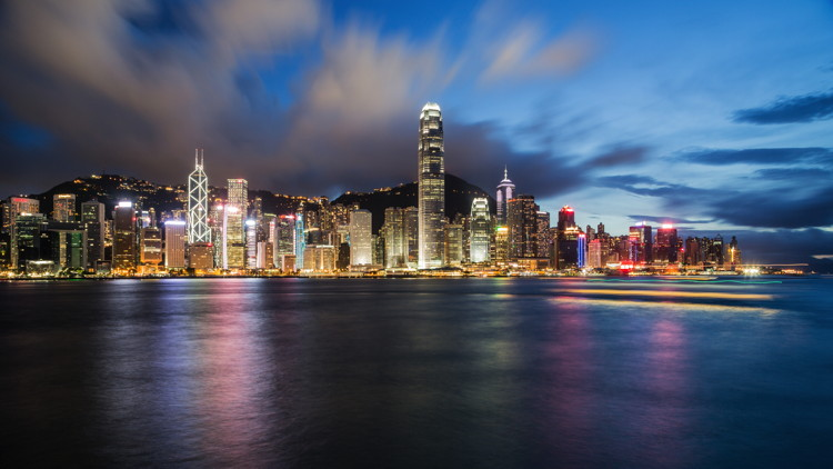 Hong Kong skyline at night - Photo by Timon Studler on Unsplash