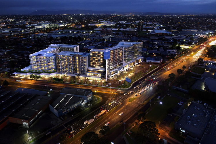 $1B Development in Melbourne's South-East - Aerial view