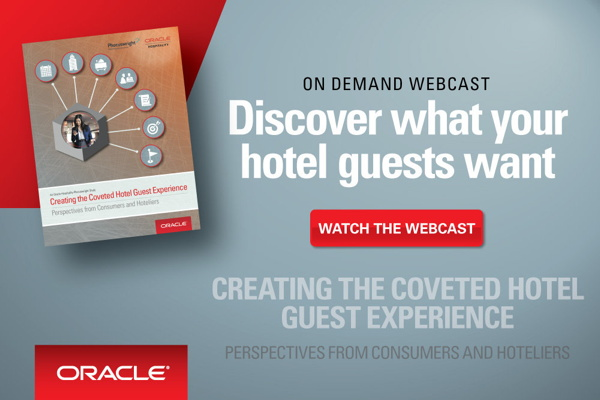 Promotional image for Webinar - Creating the Coveted Hotel Guest Experience
