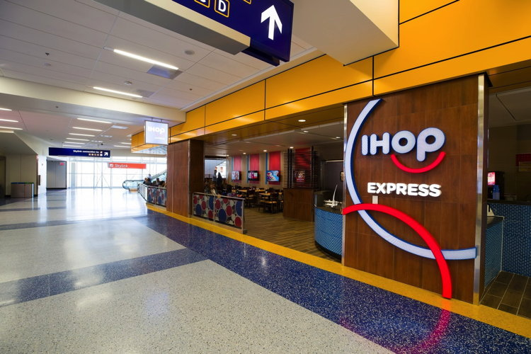 IHOP Restaurant At Dallas Fort Worth International Airport