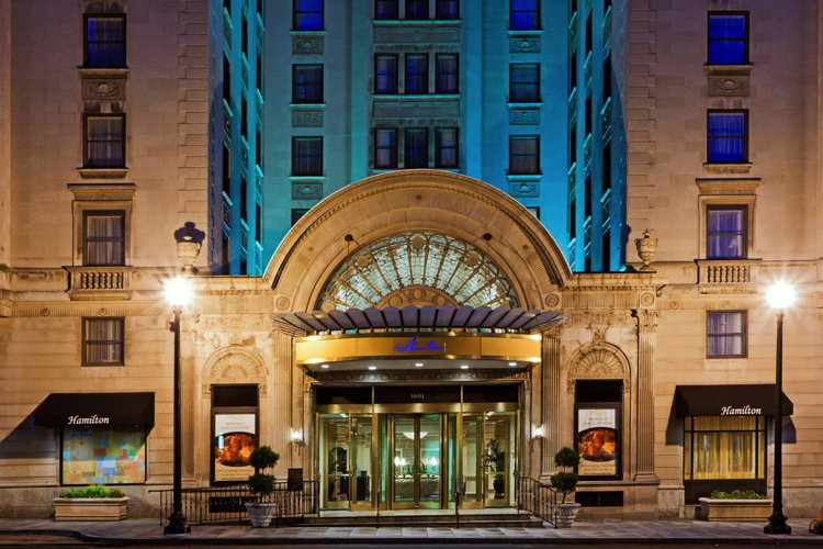 Hamilton Crowne Plaza in Washington, D.C. Sold