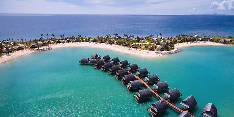 Fiji Marriott Resort Momi Bay - Aerial view