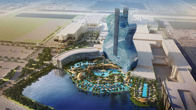 Seminole Hard Rock Hotel & Casino, Hollywood Rendering