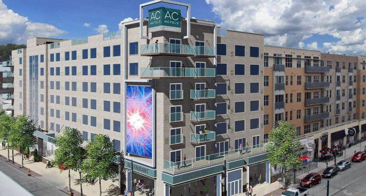 Rendering of the AC Hotel Cincinnati