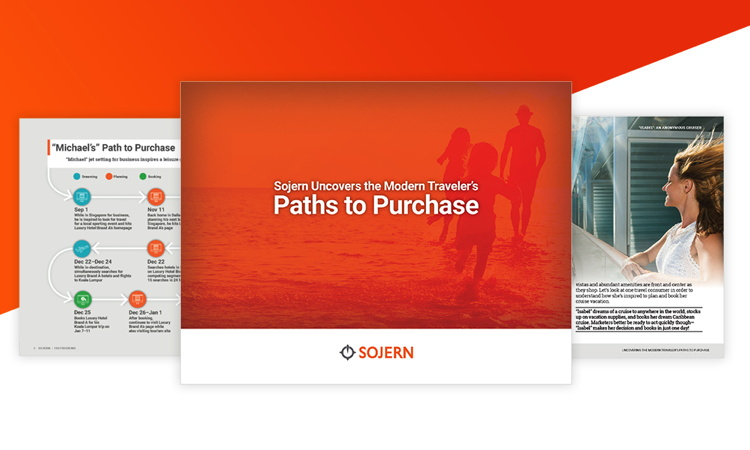 Cover from Sojern Report on Travel's Path to Purchase