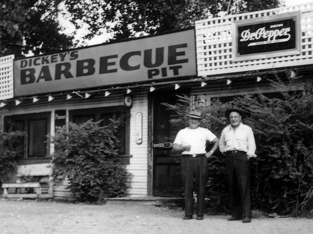 Dickey's Barbecue Pit began as a small barbecue joint in Dallas, TX in 1941 by Travis Dickey.