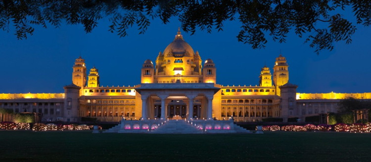 Umaid Bhawan Palace Jodhpur - Taj Hotels Palaces Resorts Safaris