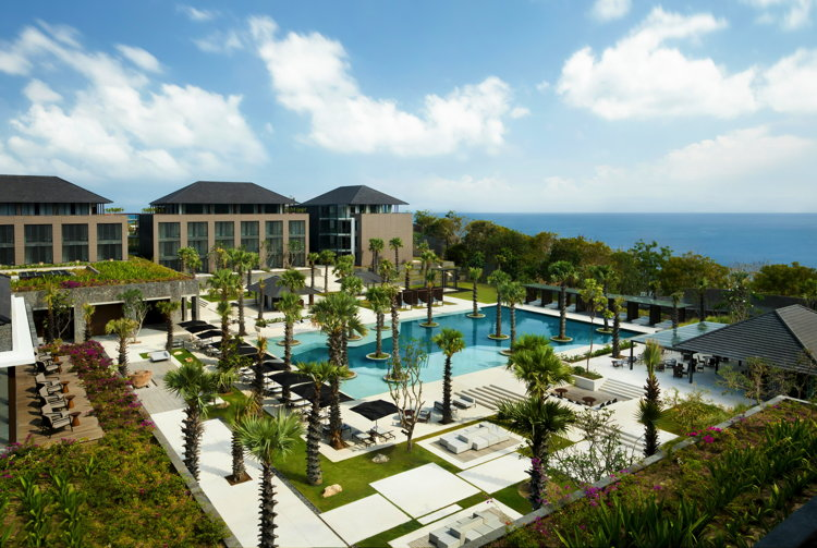 Renderong of the Radisson Blu Bali Uluwatu