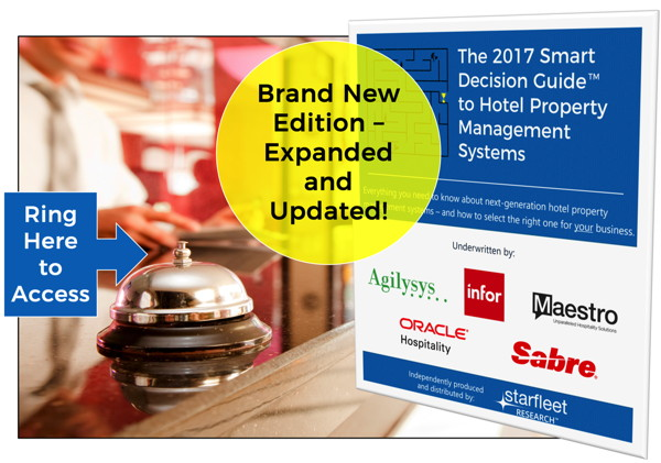 2017 Smart Decision Guide To Hotel Property Management Systems - Cover