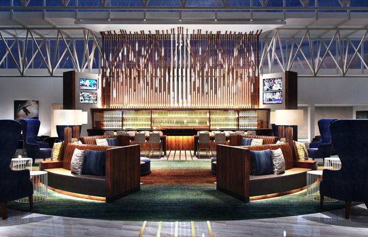 Hilton Nashville Airport - Lobby