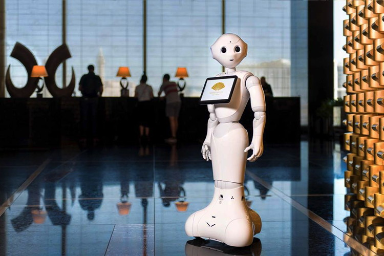 Pepper - The Humanoid Robot - Launched at Mandarin Oriental Las Vegas