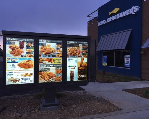 Long John Silver's to Install Digital Drive-Thru Platforms