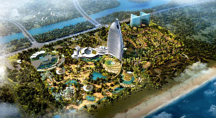 Atlantis Sanya - Aerial view