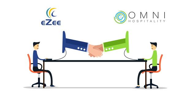 Omni Hospitality and eZee logos