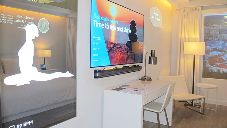 Marriott Internet of Things (IoT) Hotel Room