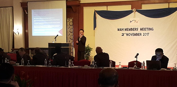 Image from Malaysian Association of Hotels meeting