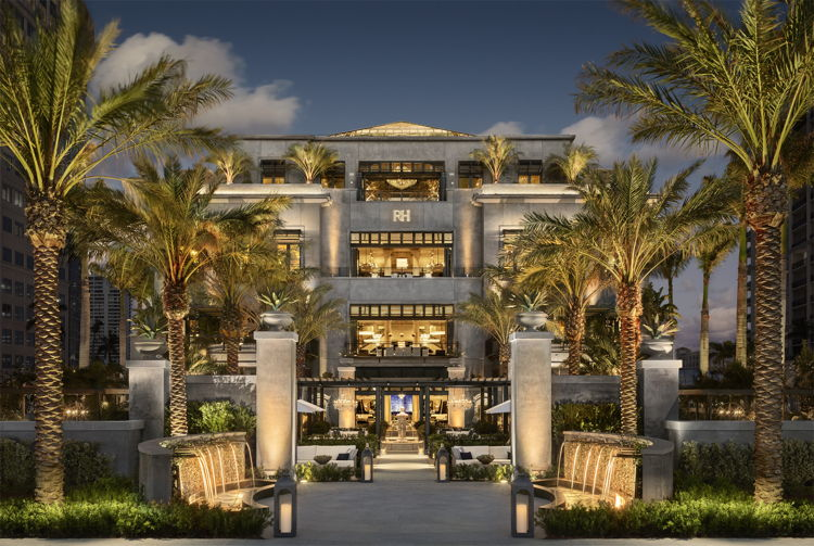 RH West Palm, The Gallery at CityPlace