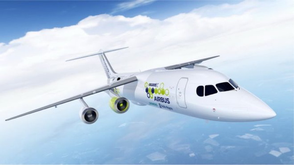 Firms Team Up on Hybrid Electric Plane Technology - BBC