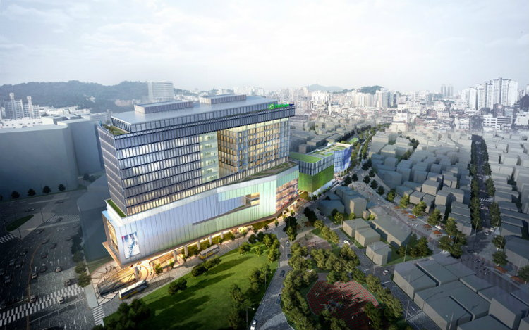 New 300 Room Holiday Inn Express Hotel Coming to Seoul, South Korea in 2018