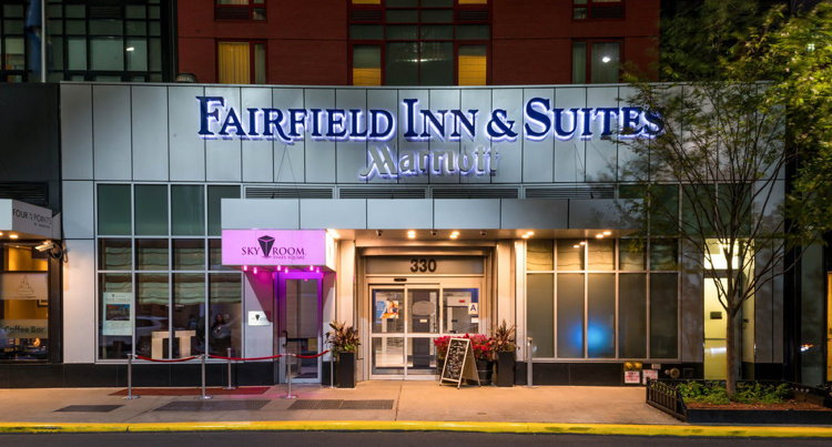Fairfield Inn & Suites New York Downtown Manhattan/World Trade Center Hotel - Entrance