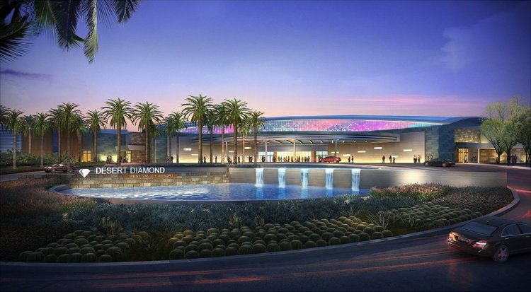 Rendering of the full-scale Desert Diamond West Valley Casino