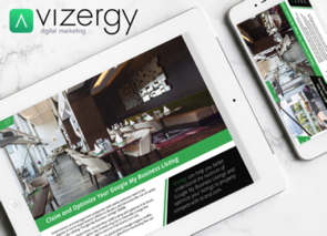 Vizergy App on various devices