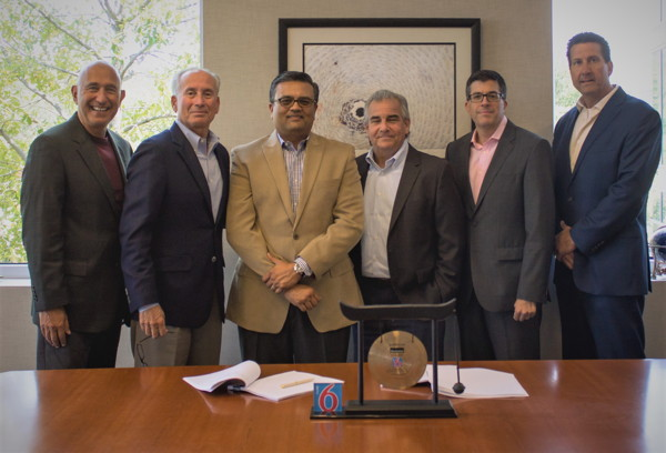 Left to Right: Dean Savas, Jim Amorosia, Vijay Patel, Alan Rabinowitz, Rob Palleschi, and Richard Schaeffer