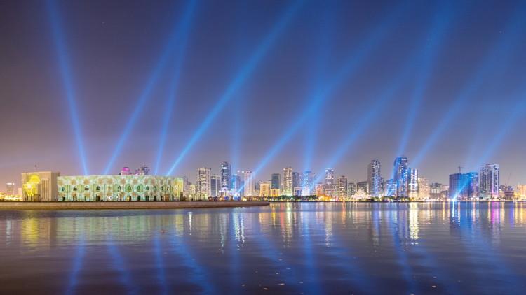 Rendering of the Al Majaz Waterfront in Sharjah