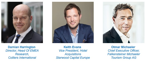 Panelists from the Adria Hotel Forum