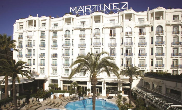 Hotel Martinez in Cannes - Exterior