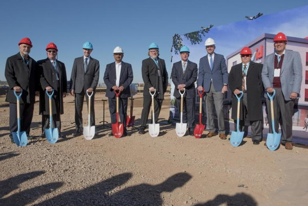 Officials at avid hotel Oklahoma City - Quail Springs Hotel Groundbreaking