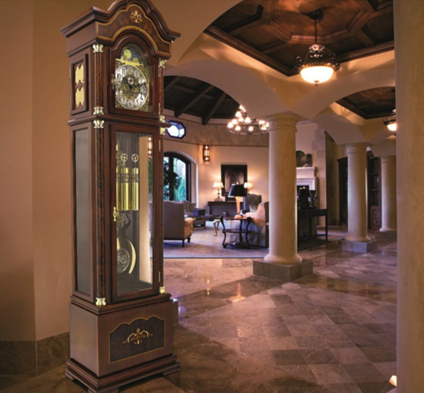 A Grandfather Clock