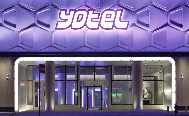 YOTEL Boston Hotel - Entrance