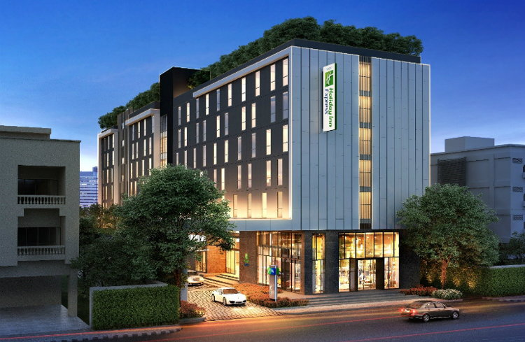 Rendering of the Holiday Inn Express Bangkok Soi Soonvijai
