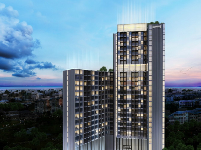 Rendering of the Staybridge Suites Chonburi Siracha