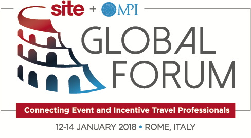 SITE, DMCs and the Global Forum logos