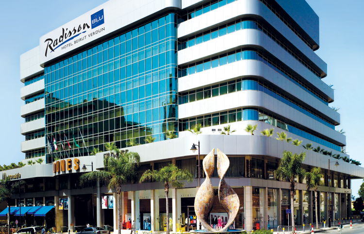 Radisson Blu Hotel Opens in Beirut