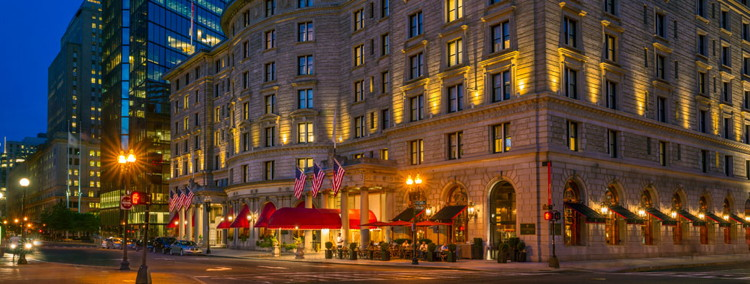 Fairmont Copley Plaza Boston - Exterior at night