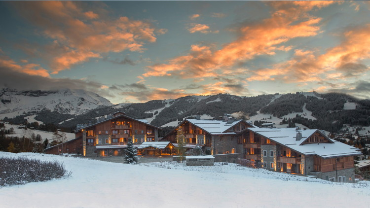 Four Seasons Hotel Megève Opens