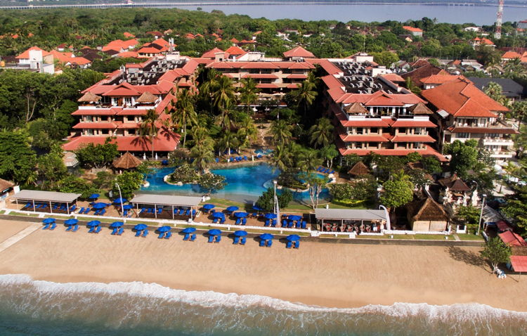 Rendering of the Hotel Nikko Bali