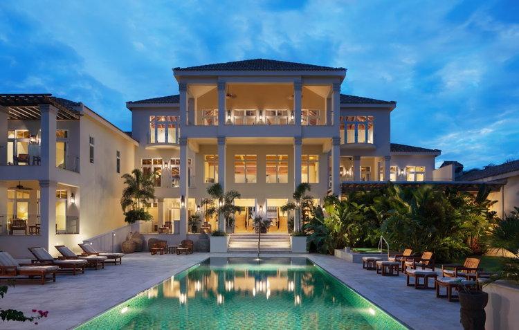 Quintessence Hotel in Anguilla - Exterior